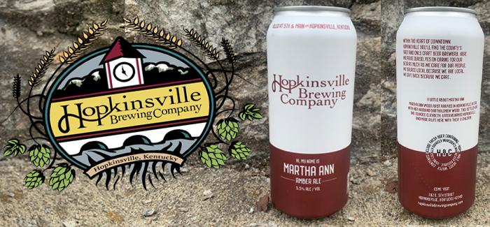 Women in Beer | Martha Ann Amber Ale Hopkinsville Brewing Co.