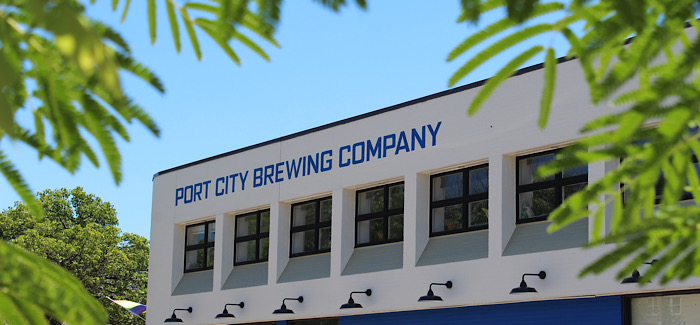 port city brewing exterior