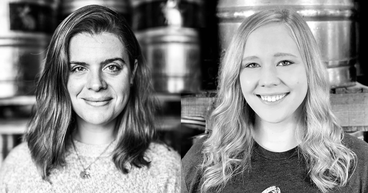Bailey Spaulding, CEO/Brewmaster & Lisa Peterson, Marketing Manager of Jackalope Brewing Co.