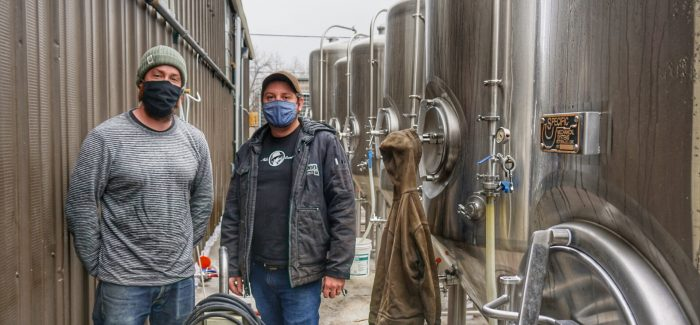 Banded Oak Brewing Will Curtin and Chris Kirk