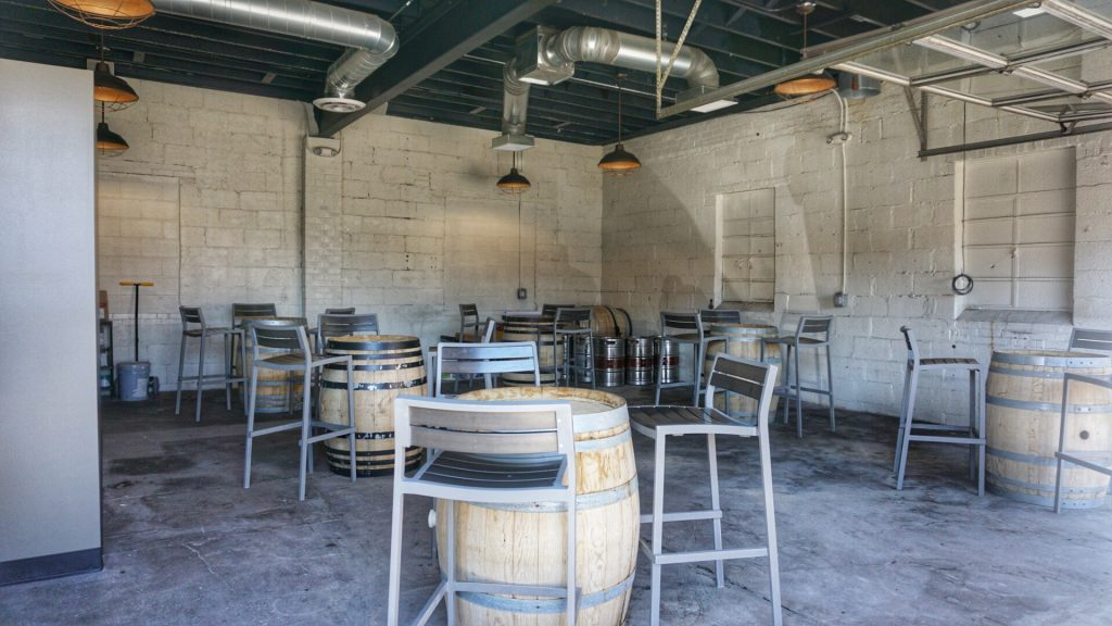 The Brewhouse Banded Oak Brewing