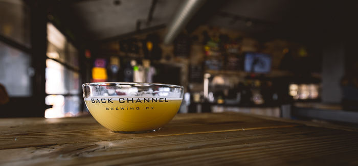 Titles served in a Bowl At Back Channel Brewing