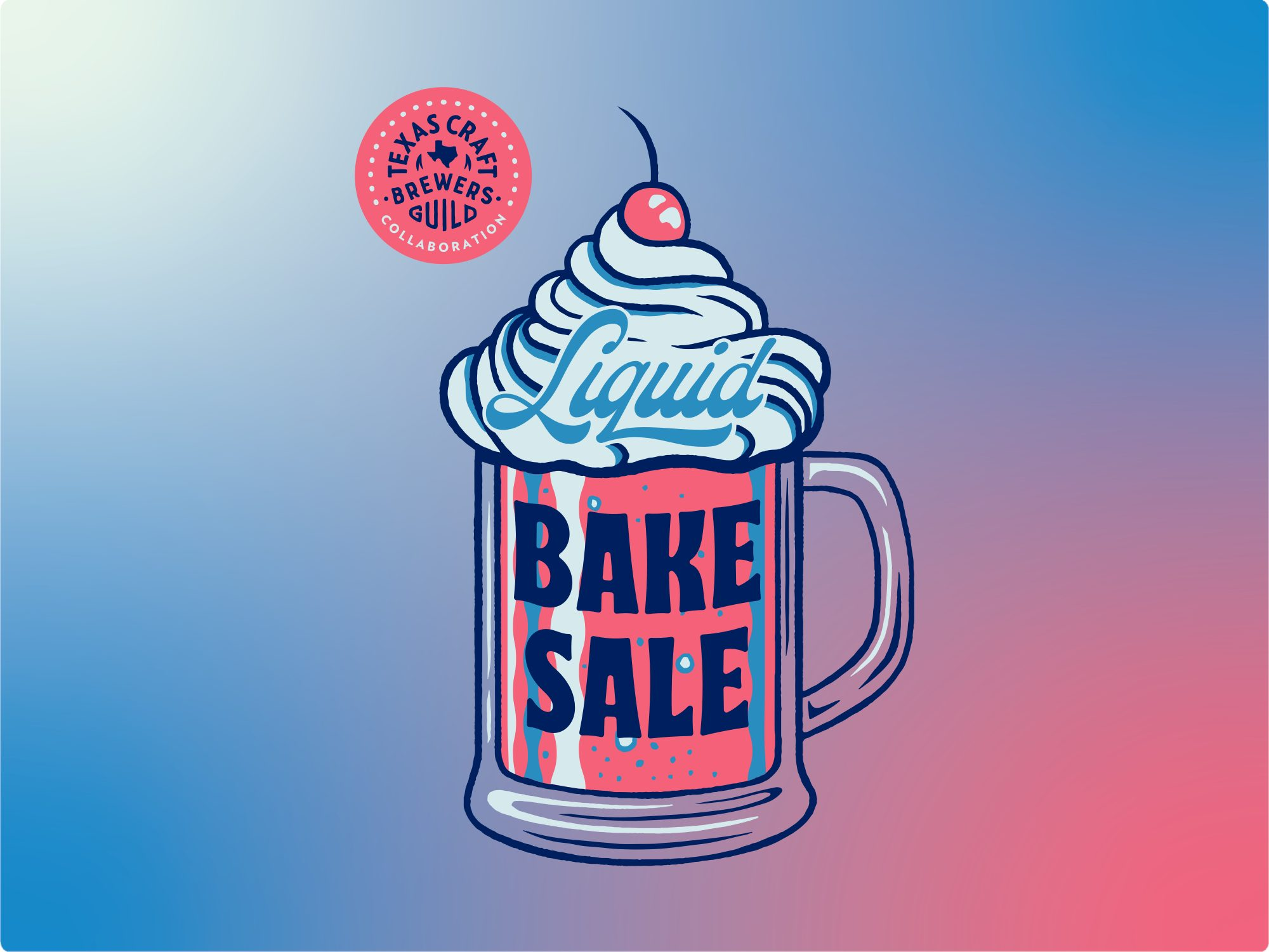 TCBG Liquid Bake Sale mug
