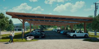 New Solar Canopy Will Provide 60% of Lawson's Finest's Power Needs