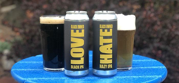 Love Black IPA - Hate Hazy IPA - Policy Kings Brewery