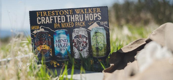 Firestone Walker Crafted Thru Hops IPA Mixed Pack