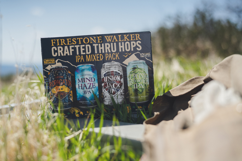 Luponic Distorion No. 18 in the Nectaron Mixed IPA Pack from Firestone Walker