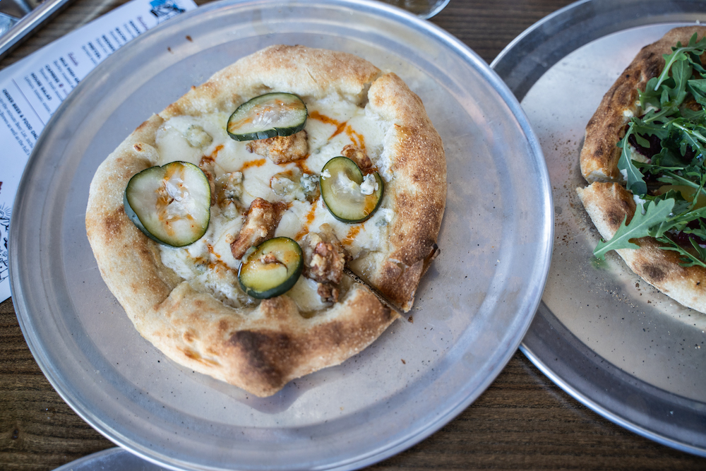 Odell Brewing Sloan's Lake Pizza