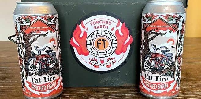 New Belgium's Torched Earth Ale for Earth Day Is, Literally, Hot Garbage