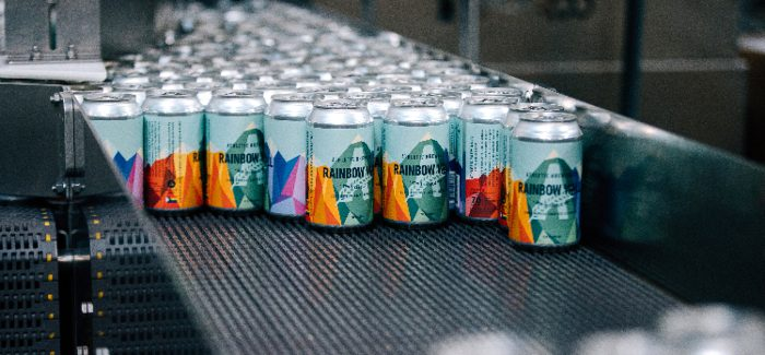 Athletic Brewing Releases New Rainbow Wall IPA for Pride Month