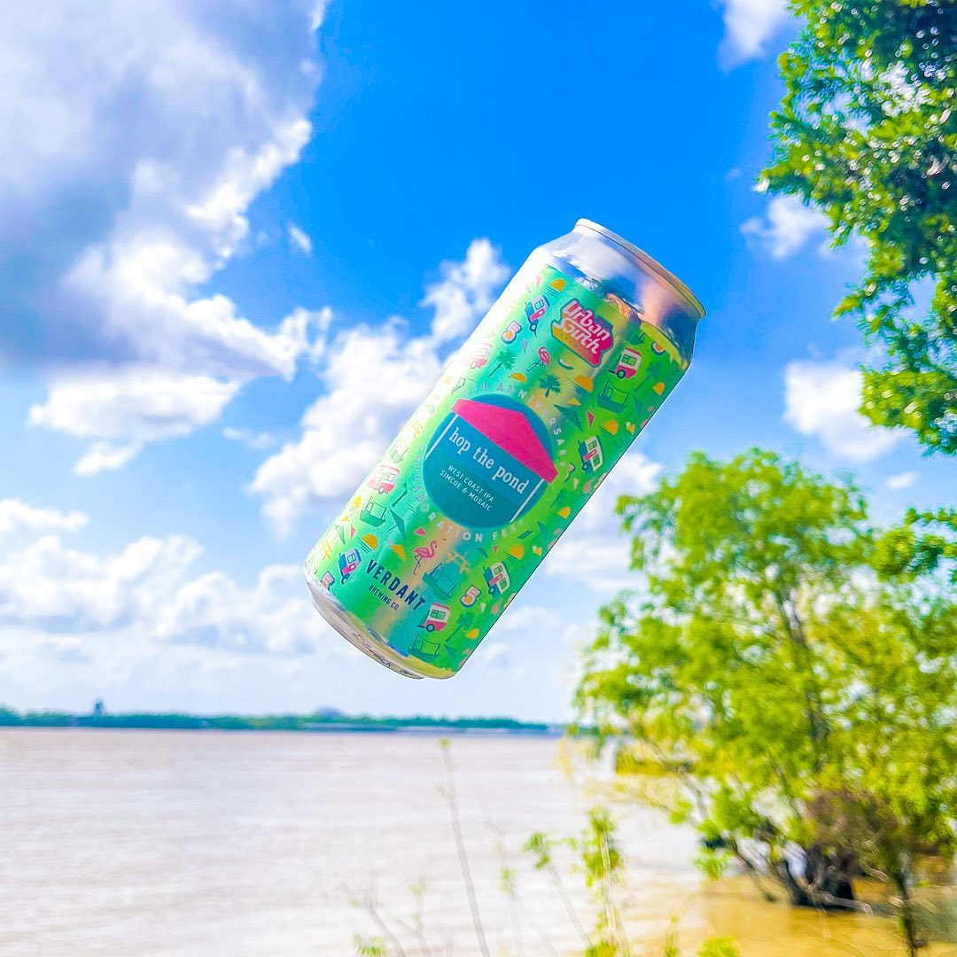 Urban South & Verdant Brewing's Hop The Pond West Coast IPA (credit Urban South Brewing)