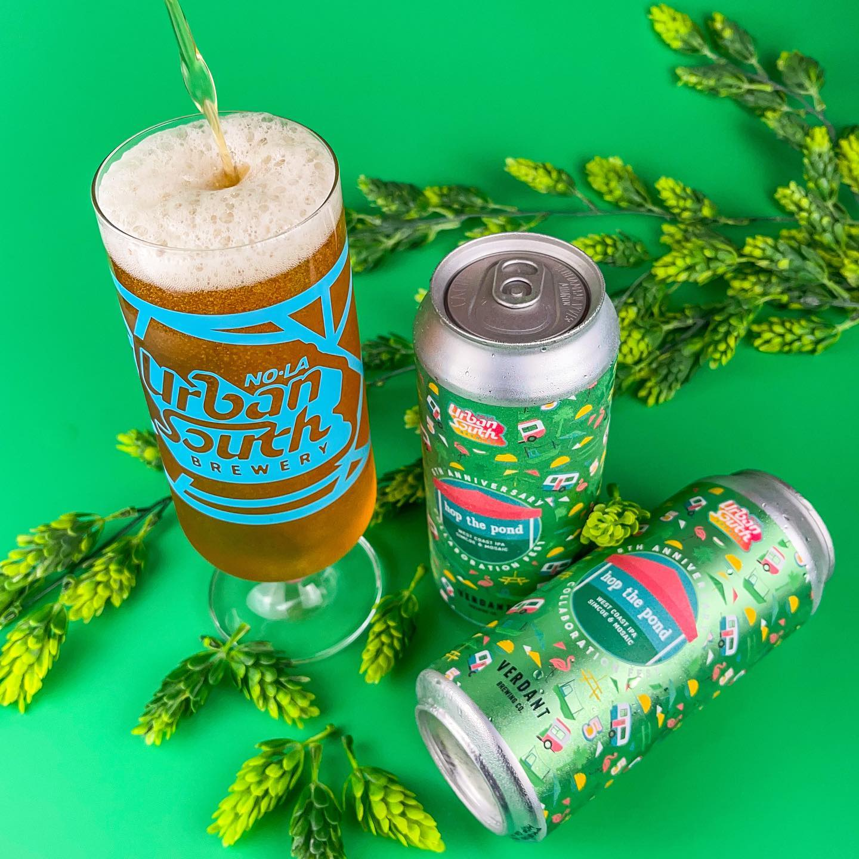 Urban South & Verdant Brewing's Hop The Pond West Coast IPA