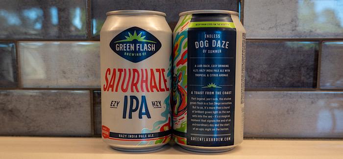 Green Flash Brewing Co. | Saturhaze IPA
