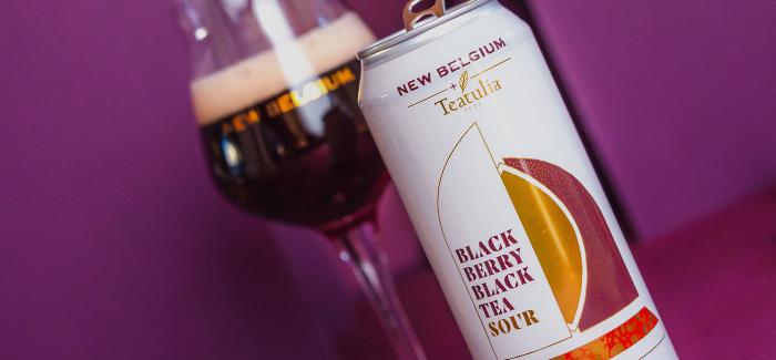 New Belgium Brewing + Teatulia Teas | Black Berry Black Tea Sour