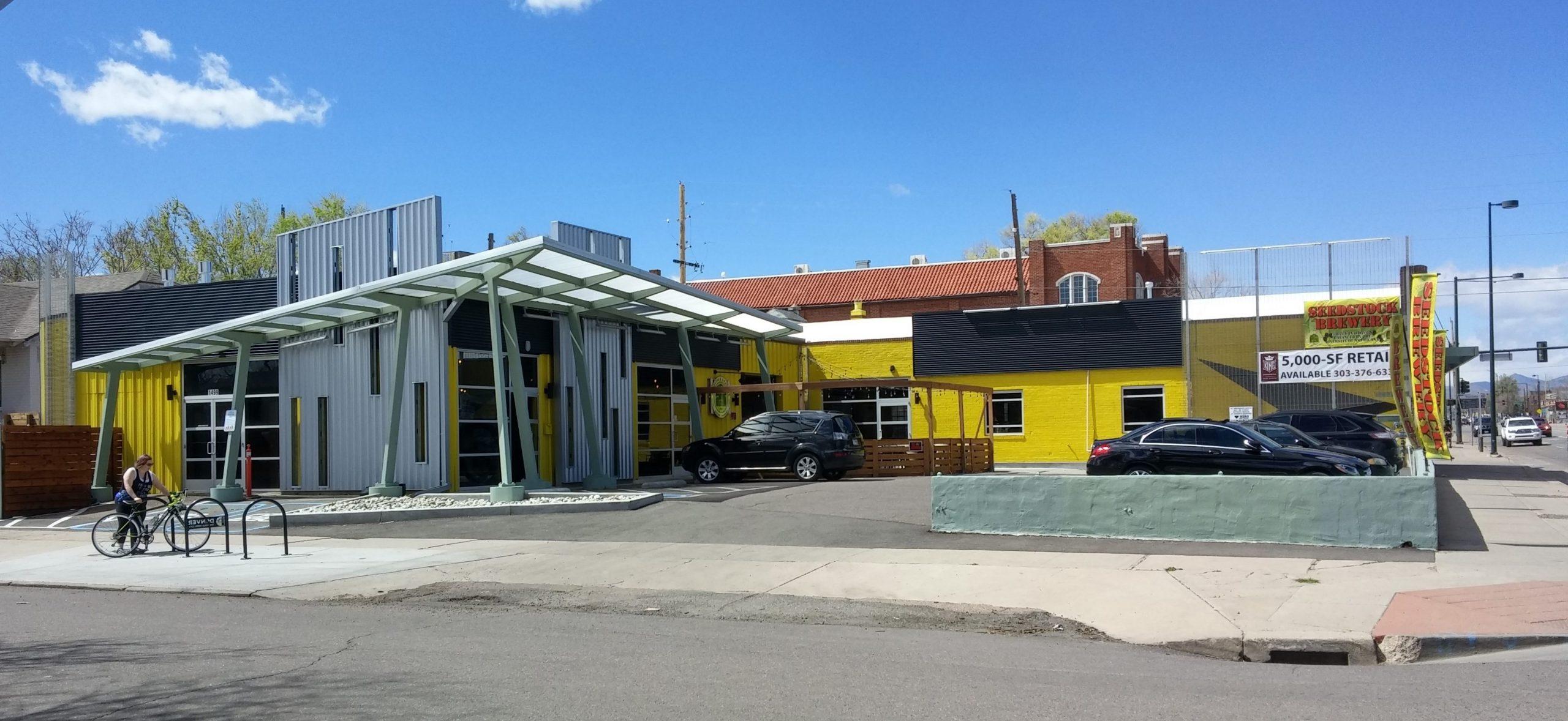 Seedstock Brewery Exterior