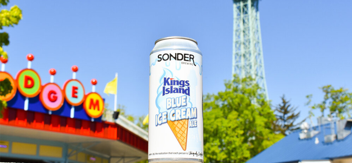 Sonder Brewing Releases Collaboration Beer With Kings Island Amusement Park