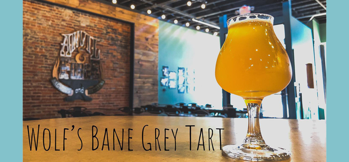 Botanical Beer Series   Anvil & Forge Brewing Wolf's Bane Grey Tart