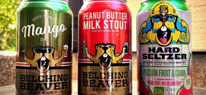 pb milk stout belching beaver