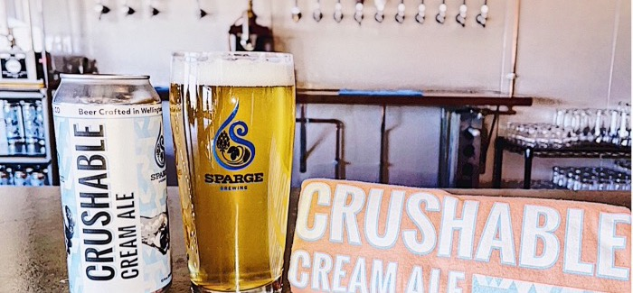Sparge Brewing Co. | Crushable Cream Ale