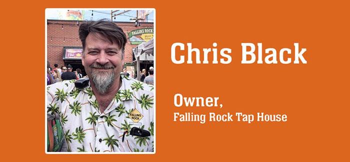 Chris Black Falling Rock Tap House