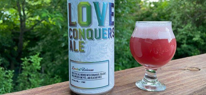 New Belgium Brewing + Samuel Adams | Love Conquers Ale