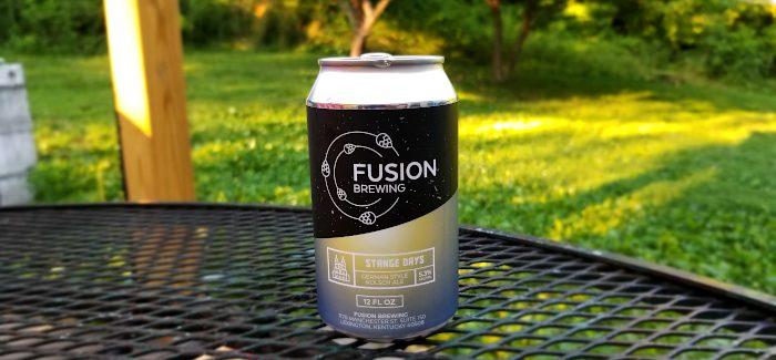 Fusion Brewing   Stange Days Kolsch