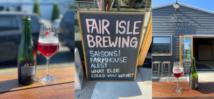 Fair Isle Brewing | Eleanor Farmhouse Ale
