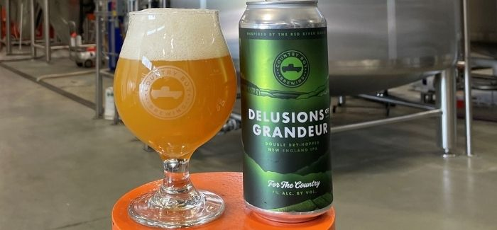 Country Boy Brewing Co.   Delusions of Grandeur