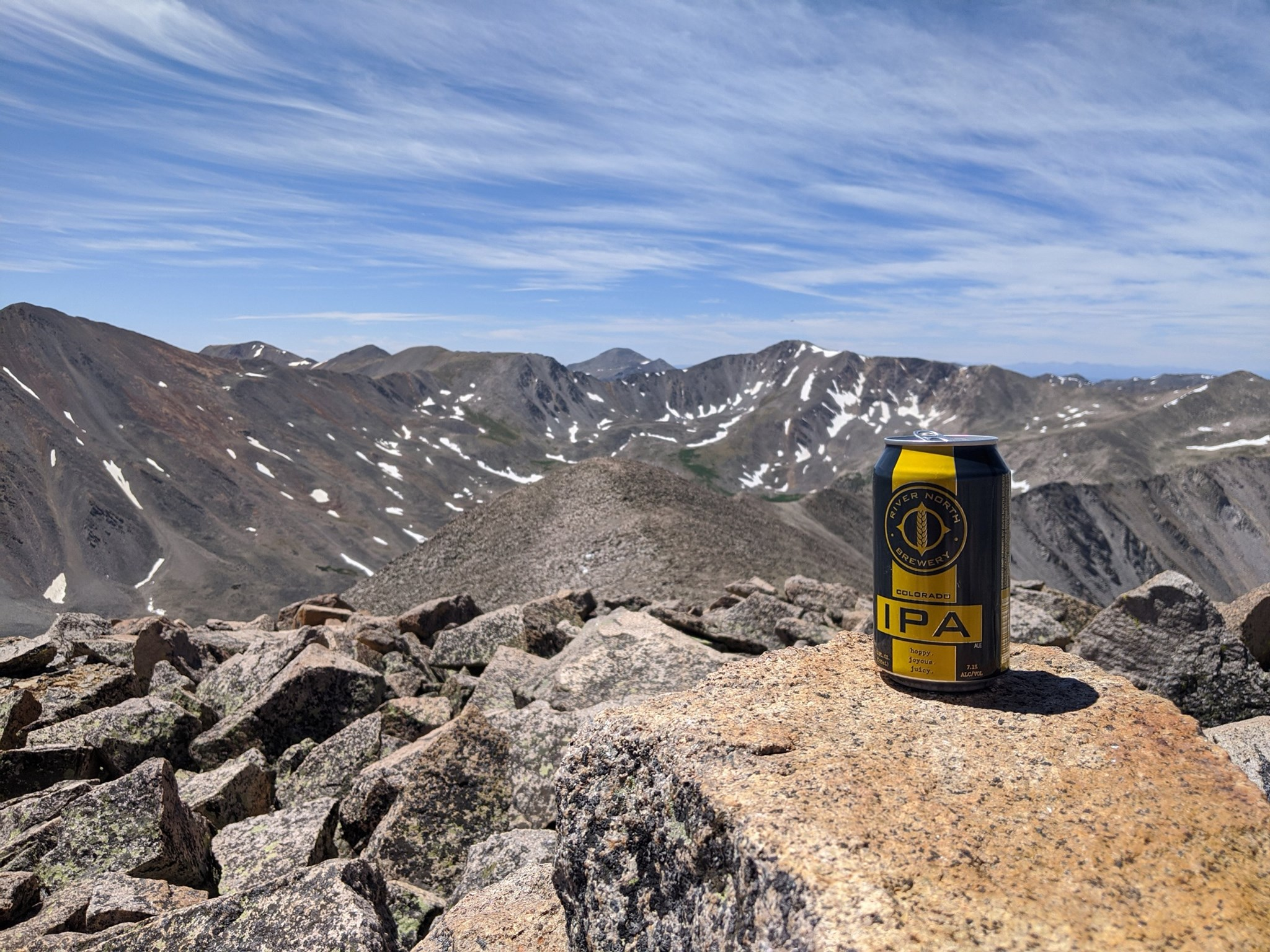Most Brewers Drinking Beer on a Fourteener Challenge - CBC 2021
