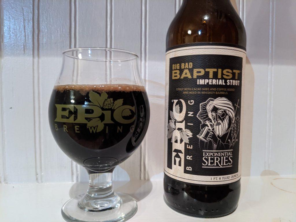 Big Bad Baptist Imperial Stout