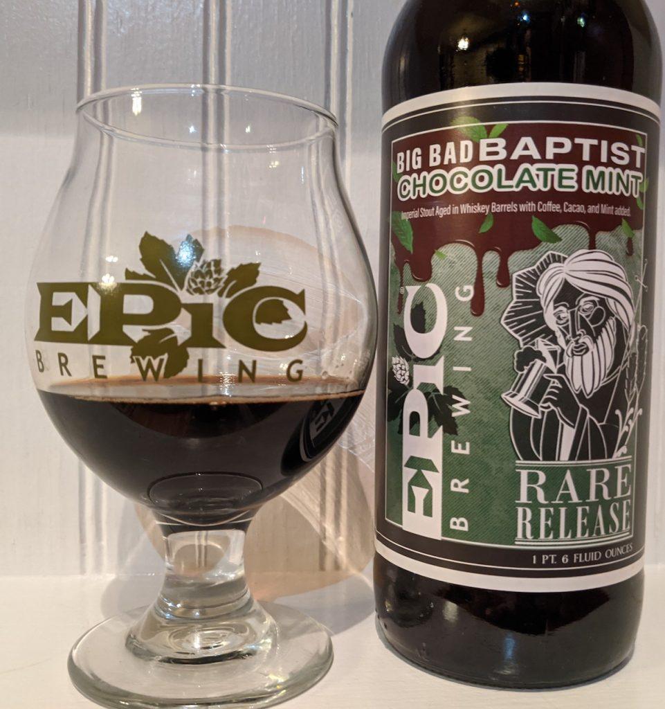 2021 Epic Brewing Big Bad Baptist Chocolate Mint