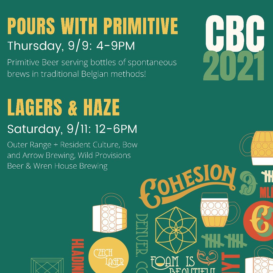 Pours with Primitive at Cohesion Brewing -- CBC 2021