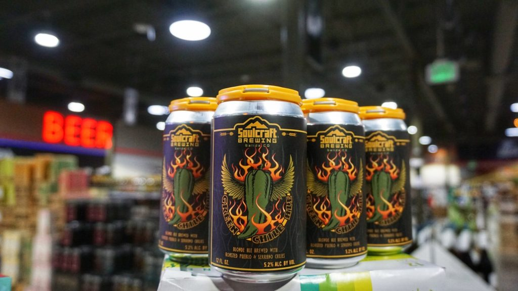 Soulcraft green chili beer