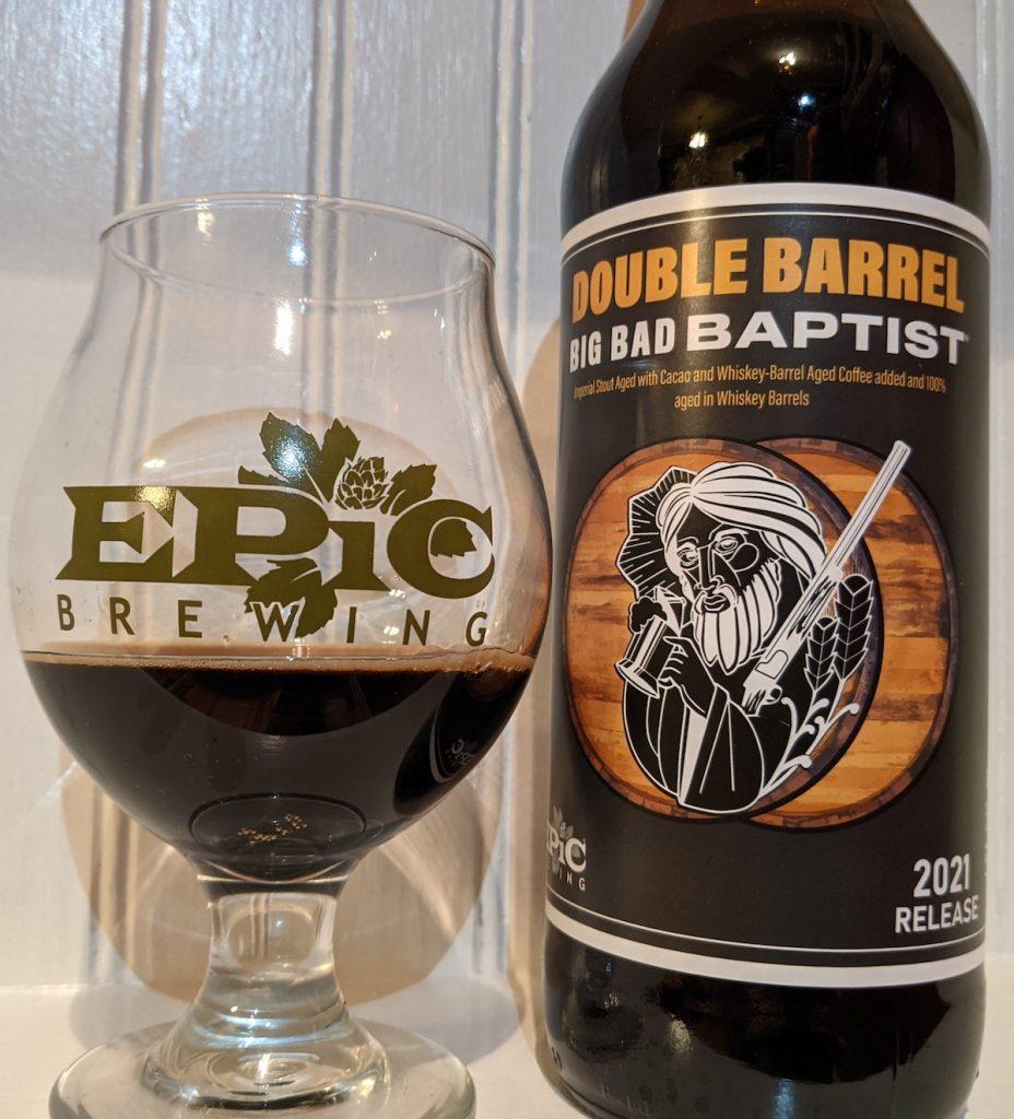 2021 Epic Brewing Big Bad Baptist Double Barrel