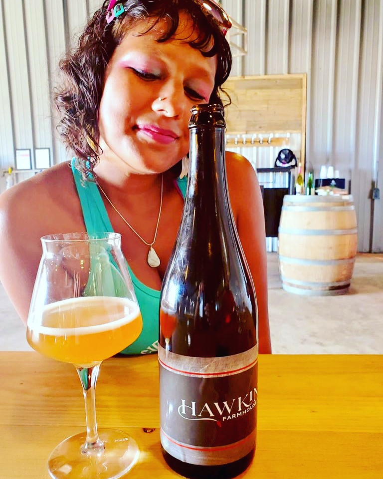 Hawkins Farmhouse Ales Major Progression, photo credit Justin Brummer