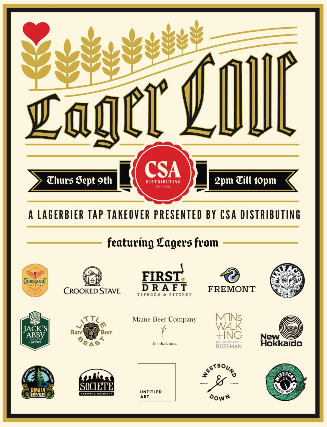 Lager Love at First Draft - CBC 2021