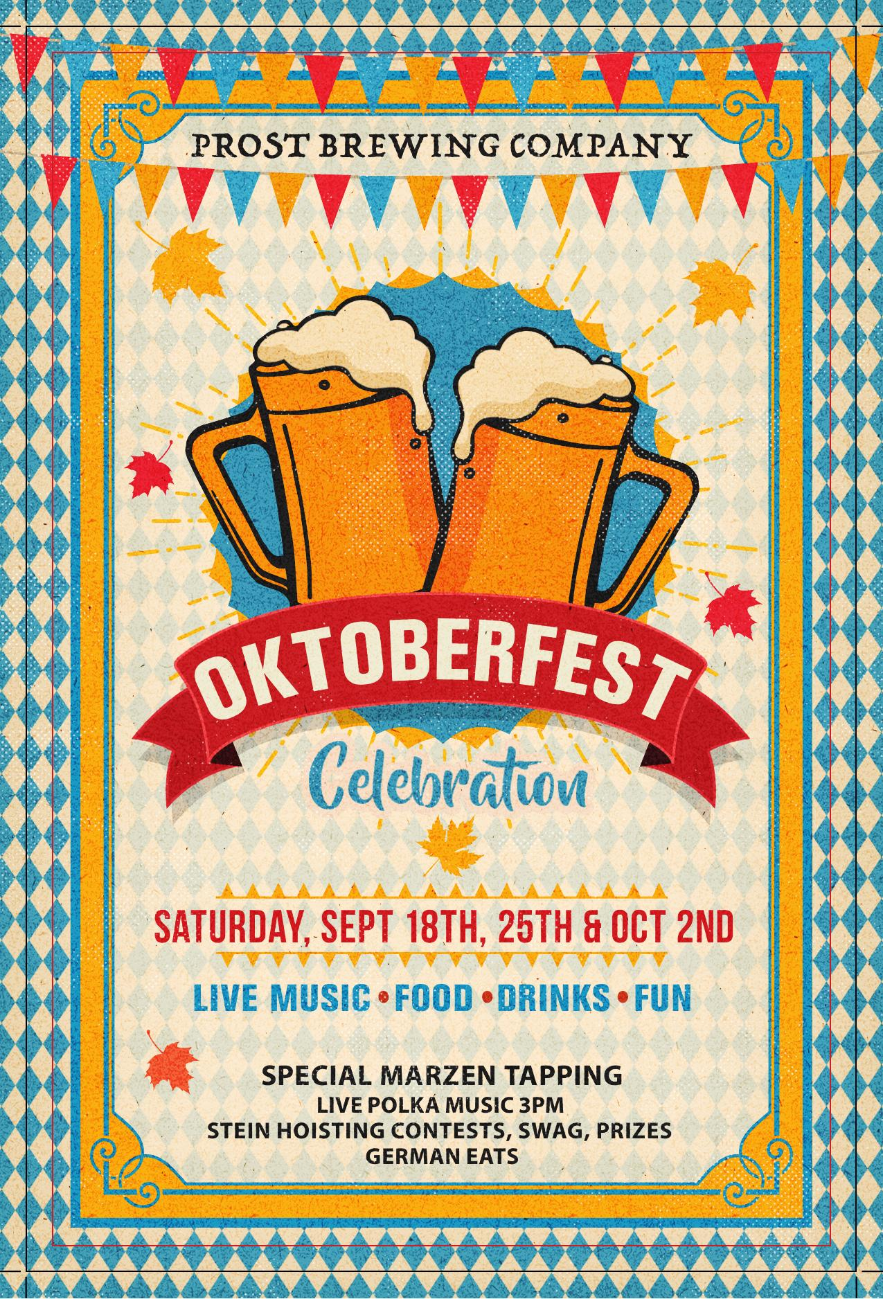 Prost Brewing Oktoberfest 2021