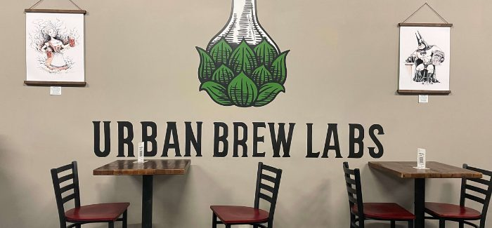 Urban Brew Labs Taproom Now Open