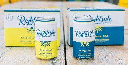 Rightside Brewing Citrus Wheat & American IPA