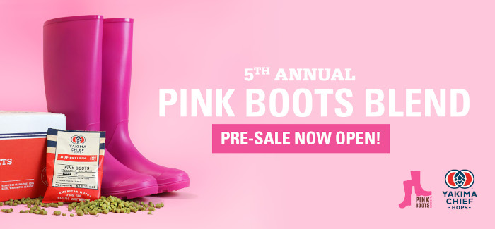 Yakima Chief Hops Announces the Pink Boots Blend for 2022